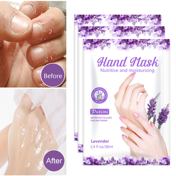 10Packs Exfoliating Hand Masks Wax Peel Moisturizing Spa Gloves Whitening Hand Mask Cream Hand Scrub Remove Dead Skin Hand Care 1