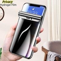 Hydrogel Film Für Samsung Galaxy S20 Ultra S10 Plus Privatsphäre Peep Weichen Bildschirm Protector Für Samsung S9 Hinweis 20 9 10 Plus Film