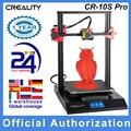 CREALITY CR-10S Pro / V2 обговление автомобильные выравнивания 3D-принтеры DIY комплект для самостоятельной сборки 300*300*400 мм печати Размеры полный ЖК-ди...