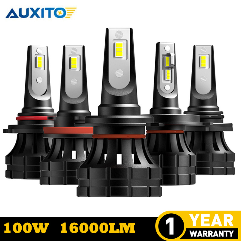 2pcs H11 H9 H8 headlights 9005 HB3 9006 HB4 <font><b>H7</b></font> H3 12V For Nissan Qashqai Almera Juke Suzuki Grand Vitara Swift <font><b>Led</b></font> Car <font><b>Lamp</b></font> Bulb image