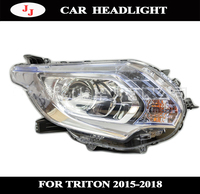 Car front headlight for Mitsubishi Triton L200 2015 2016 2017 2018 headlamp high quality orginal style