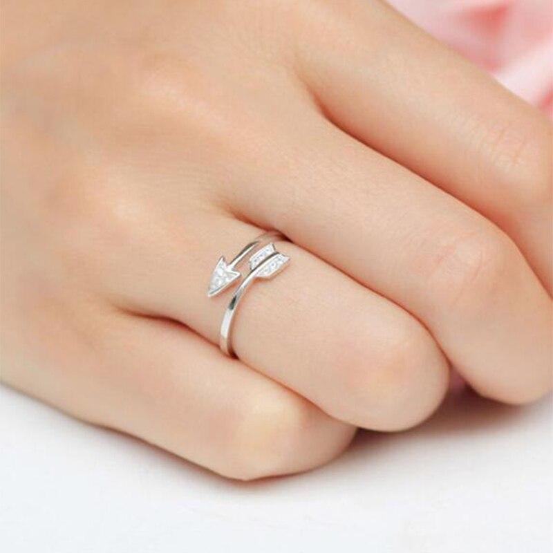 Sterling Silver Plain Cross Adjustable Ring