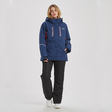 Women Ski Suit Winter Ski Jacket And Pants High-quality Windproof Waterproof Breathable Thermal Skiing Snowboarding Suits Brands winter ski suit women brands 2018 ski jacket and pants snow warm waterproof windproof skiing and snowboarding suits