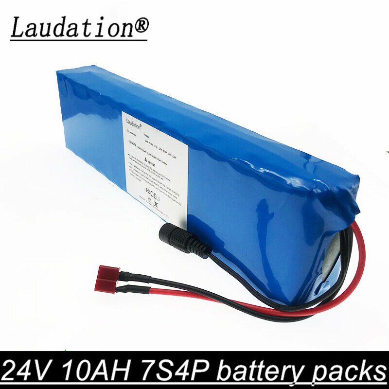 7S <font><b>29.4V</b></font> <font><b>10AH</b></font> Li-ion Battery Rechargeable Bicycle 350W E Bike Electric Li-ion 24v battery golf cart battery electric vehicle bms image