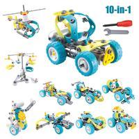 Car Puzzle Kit, Imagination Building Bricks Blocks Assembly Disassembly Construction Puzzles DIY Intelligence Learning Play Toys