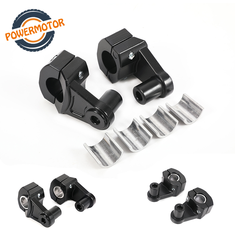 22mm <font><b>28mm</b></font> Universal Motorcycle <font><b>Handlebar</b></font> <font><b>Riser</b></font> Bars Clamp Handle Bar <font><b>Risers</b></font> ForSuzukiYamahaKawasakiBMWHonda Dirt Pit Bike image