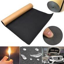Auto Car Sound Proof Deadening Foam 30X50cm Anti-noise Sound Insulator Self Adhesive Insulation Cotton Car Interior Accessories
