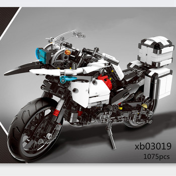 XINGBAO LepinED Technic MOC R1200 GS Heavy Moto Motorcycle Model Building Blocks Toys For Kids Bricks Classic Educational Gifts