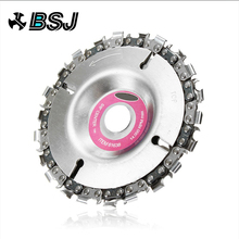 ALLSOME 4 Inch Grinder Disc and Chain 22 Tooth Fine Cut Set For 100/115 Angle HT2106