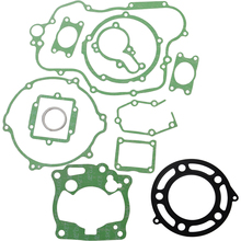 Motorcycle engine gaskets include Crankcase Covers cylinder Gasket kit set For KAWASAKI KX125 KX 125 1998-2000 98 99 20