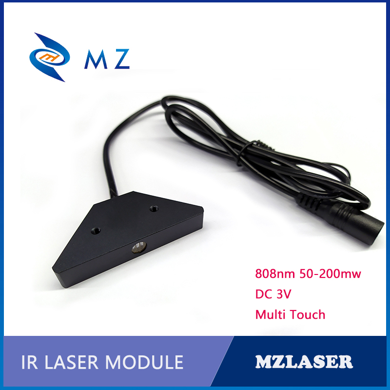 Multi-Touch Laser Module 808nm Linear Laser Touch Screen Interactive Light Source