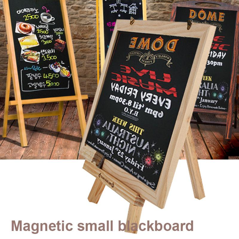 Small Blackboard Dual-Purpose Home WordPad Decor Children Whiteboard Double-Sided Creative Portable Sided Blackboard Restaurant