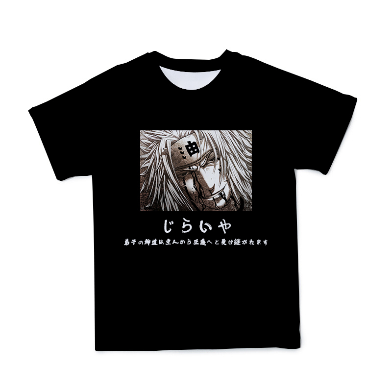 2021Summer New Style 3D Naruto Men's T-shirt Fashion Casual Couple Clothes O-neck Short-Sleeved Large Size 110-6XL(Customizable)