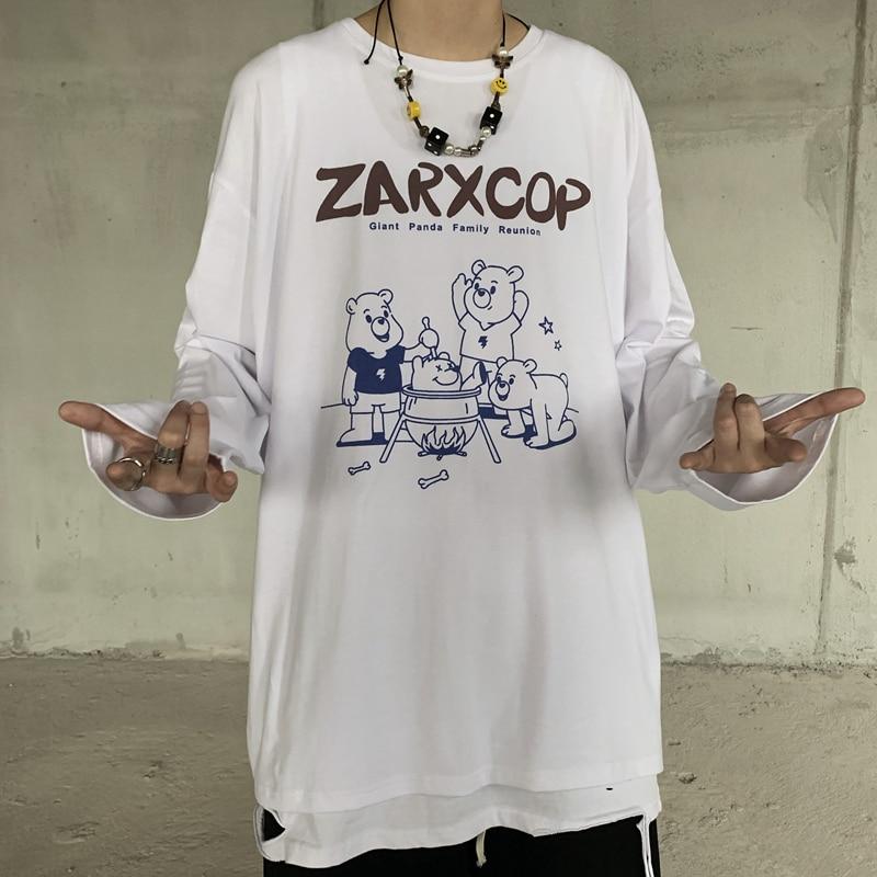 Купить креативная футболка в стиле хип хоп с круглым вырезом и надписью