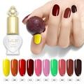 LKE 58 Цвет s однотонный Цвет лак для ногтей лак гибридный, Длительное Действие, Нейл-арт Декоративный Лак для ногтей 8 мл