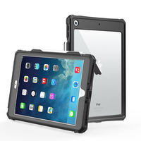 protective tpu For iPad 10.2 inch 2019 Waterproof Case Dual Layer PC + TPU Cover IP69 Waterproof Dustproof Anti-fall Tablet Protective Shell (1)