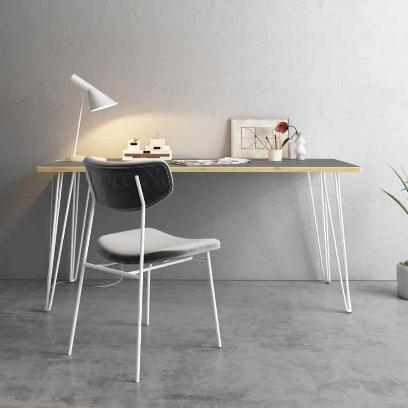 Nordic minimalist solid wood desk computer desk home small table desk chair  designer desk bedroom modern