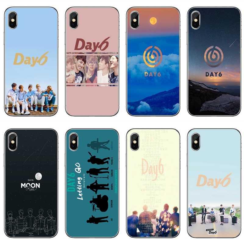 Day6 kpop logo De Luxe Pour Samsung Galaxy S10e Lite S9 S8 S7 S6 bord Plus Note 10 9 8 5 4 S5 S4 S3 mini Housse
