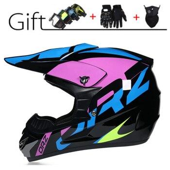 Casco profesional para Motocross todoterreno para hombre, protección para la cabeza para Moto De carreras, Atv, Dh