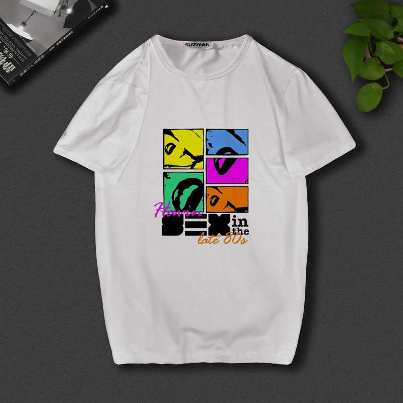 Camiseta de diseño nuevo para hombre, camiseta para mujer, con estampado de personajes de dibujos animados de 2019