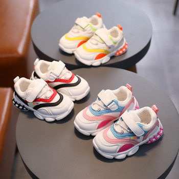 Children Kids Baby Girls Boys Outdoor Casual Shoes Sport Sneakers Shoes Baby running shoes Three colors available Breathable Y4 children sport shoes casual fashion boys girls net cloth breathable shoes kids sneakers student outdoor running shoes red black