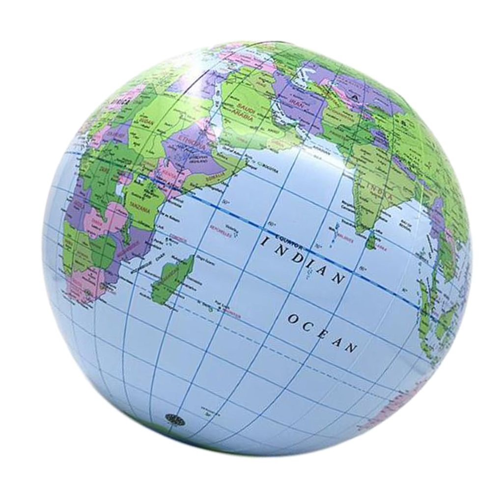 Inflatable World Globe - 35