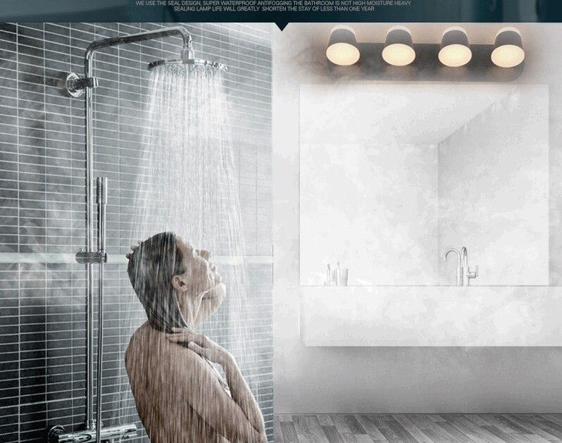 Quarto Espelho Do Banheiro Lâmpada de Leitura Luminárias Luminária