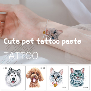 Environmental and breathable fun cartoon stickers waterproof and sweat-proof non-reflective animal tattoo stickers image