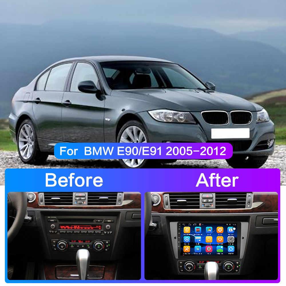 車アンドロイド 10 マルチメディアラジオプレーヤー bmw E90/E91/E92/E93 3 シリーズ gps ナビゲーションステレオオーディオヘッドユニット 1 din 2DIN no dvd