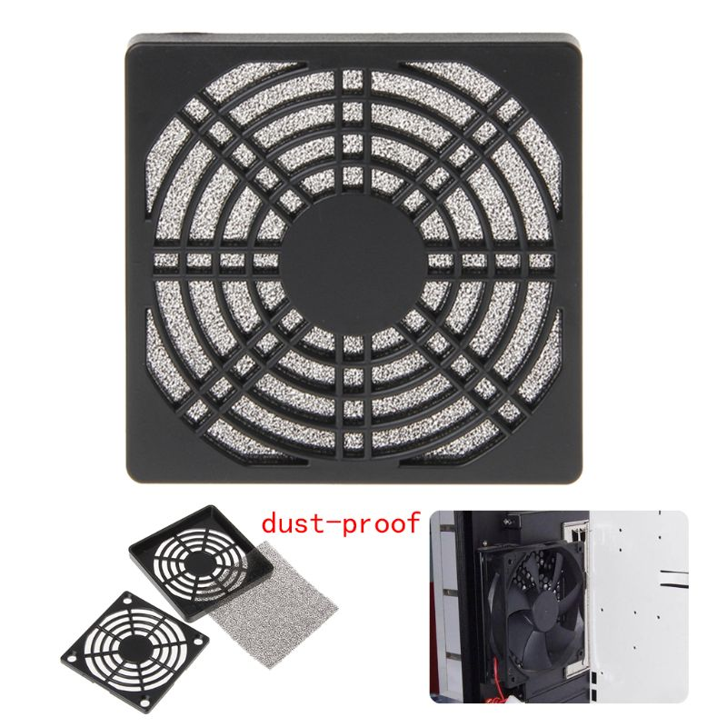 Dustproof 120mm Case Fan Dust Filter Guard Grill Protector Cover For PC Compute