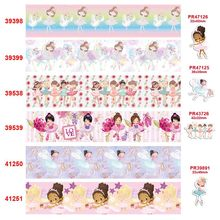 free shipping characters cartoon characters printed grosgrain ribbon 39398(China)