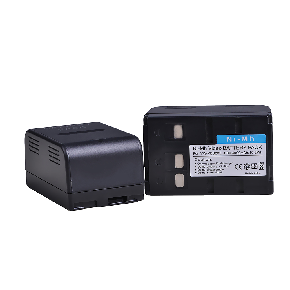 VSB-0200 VINTRONS Ni-MH BATTERY Pack Fits Panasonic NV-S850EN VW-VBS10 NV-A3 HHR-V211 NV-R65E VBS20E