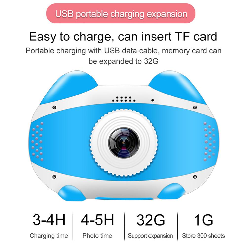 H65f120fe861043949a6ecfb6bbb815ceT 2019 Newest Mini WiFi Camera Children Educational Toys For Children Birthday Gifts Digital Camera 1080P Projection Video Camera