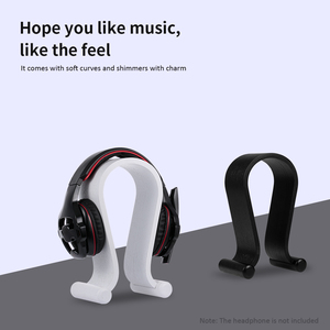 Image 5 - SAMDI Wooden Headphone Stand Gaming Headset Earphone Displaying Holder Hanger wooden stand holder