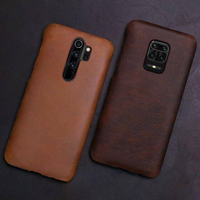 Funda funda de teléfono para Xiaomi Redmi Note 9 S 8 7 6 5 K30 Mi 9 se 9T 10 Lite A3 Mix 2s Max 3 Poco F1 X2 X3 F2 Pro Crazy Horse