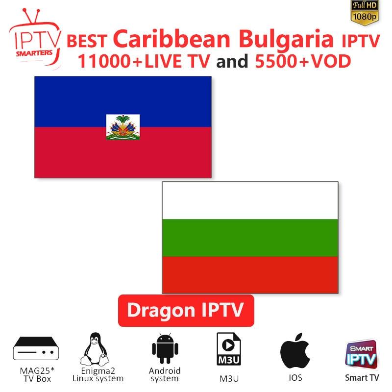Caribbean IPTV M3U IPTV 10000+Live Channels For M3u Mag Box Smart Tv  Bulgaria Iptv M3U Code Sports Puzzle Entertainment Channel