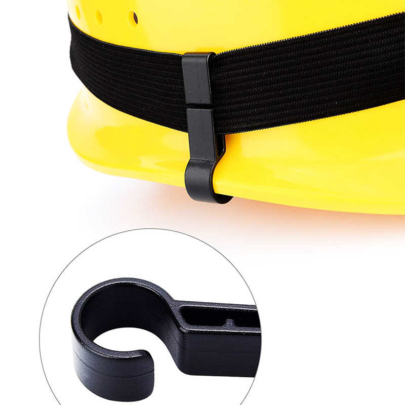 ZK20 Dropshipping หมวกกันน็อกคลิปสำหรับไฟหน้าความปลอดภัยหมวกหมวกอุปกรณ์เสริมคลิป (ซื้อ 1 แถม 9 ฟรี)