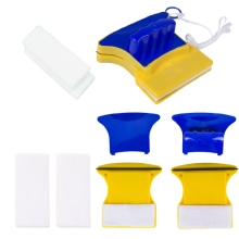 Square Replacement Sponge For Magnetic Window Glass Cleaning Brush Accessories K1MF