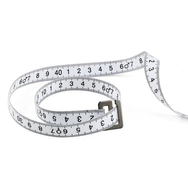 Nouveau 1 pièces 150cm imc indice de masse corporelle ruban rétractable pour régime perte de poids ruban à mesurer et calculatrice gardez votre règle de corps de beauté