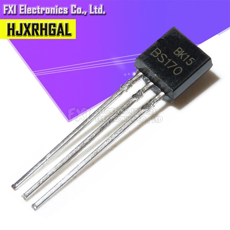 10PCS BS170 TO-92 TO92 Triode Transistor New Original