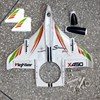 X450.0001 Main Body Fuselage Cover Canopy WLtoys XK X450 Fighter RC Airplane Aircraft Helicopter Spare parts Sets