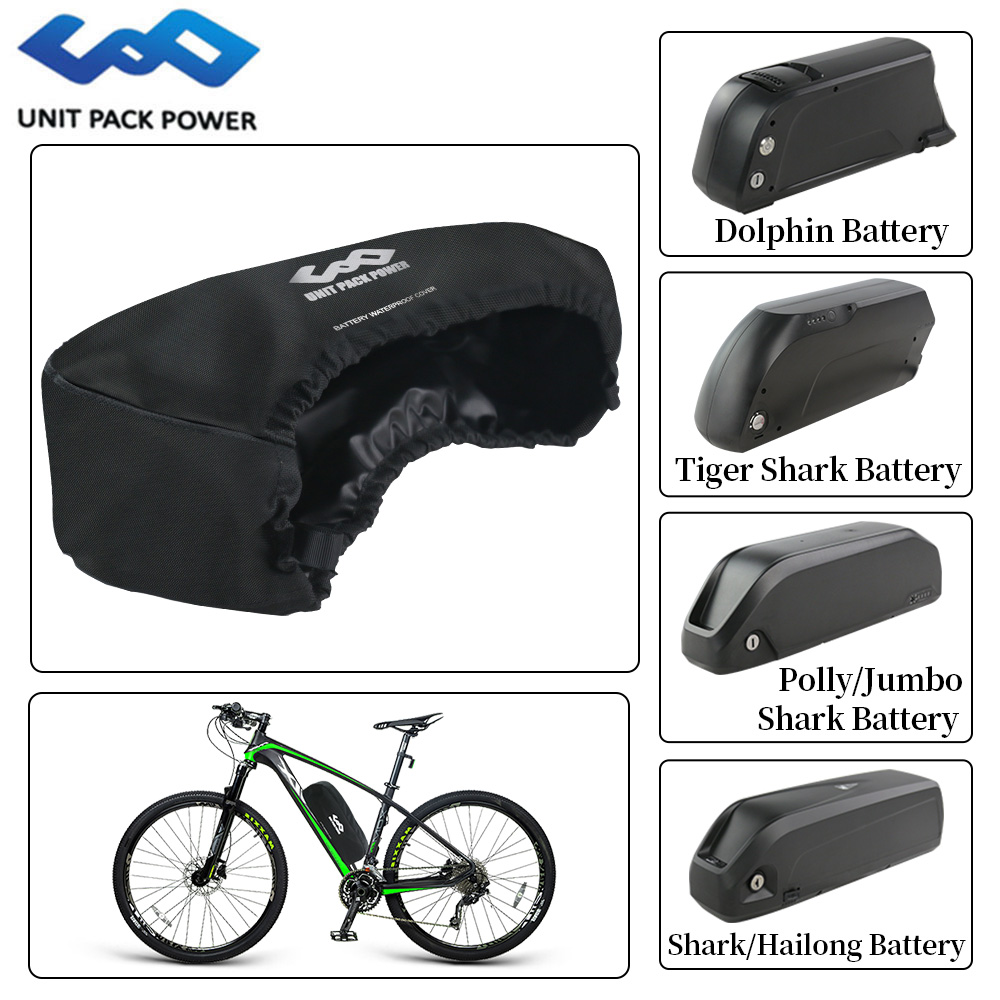 Top Quality Waterproof Bag For EBike Battery Dustproof Cover For Hailong Shark/Dolphin/Polly/Jumbo Style Lithium Batteries Case
