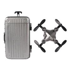 Toy Drone Mini Remote-Control-Aircraft Folding Photography Aerial Luggage Four-Axis Children's