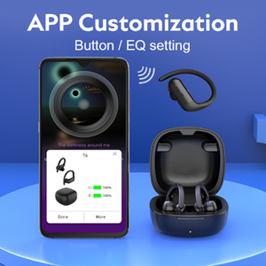 Image 3 - 2020 NEWEST QCY T6 True Wireless Earphones Sport Bluetooth  Headphone Stereo Hifi Sound With Exclusive APP Available