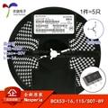 BCX53-16, 115 оригинальный экран AL SOT-89-80 V/-1A SMD транзистор (5