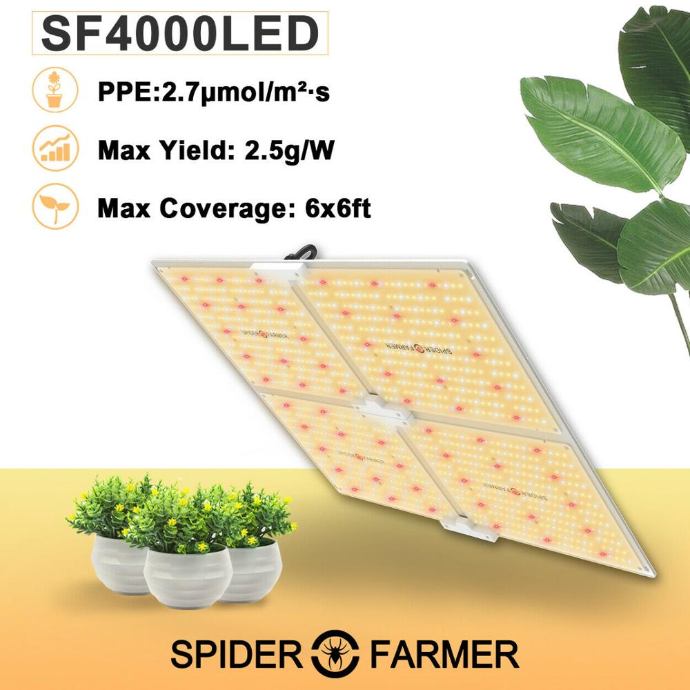 Spider Farmer 4000W Led Grow Light Full Spectrum Quantum Board For Indoor Hydro Plants Samsung LM301B Meanwell Growing Lamps