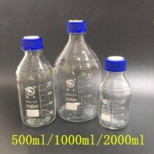 Liquid Phase Mobile Phase Bottle Cap Reagent Bottle Feeding Cap Replacement Bottle Cap Injection Bottle Cap Blue Reagent Bottle