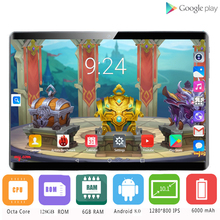 Glass-Screen Android Wifi Global-Version Octa-Core LTE 10 OS GPS Newest 4G 128GB IPS