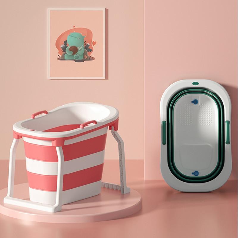 Adult Bathtub Portable Collapsible Bathtub Baby Child Bathtub Household Large Tub Folding Shower Tray Folding Adult Bathtub