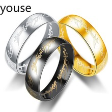 Stainless Steel Ring Lord of Rings Stainless Steel Ring  Rings for Women  Stainless Steel Rings  Love Ring  Men Ring scrotum pendant top stainless steel penis ring chastity devices restraint pendant scrotum ring cock ring sex toy for men b2 85